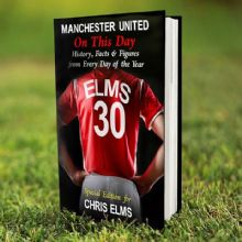 Personalised Manchester United On This Day Book P0512P45